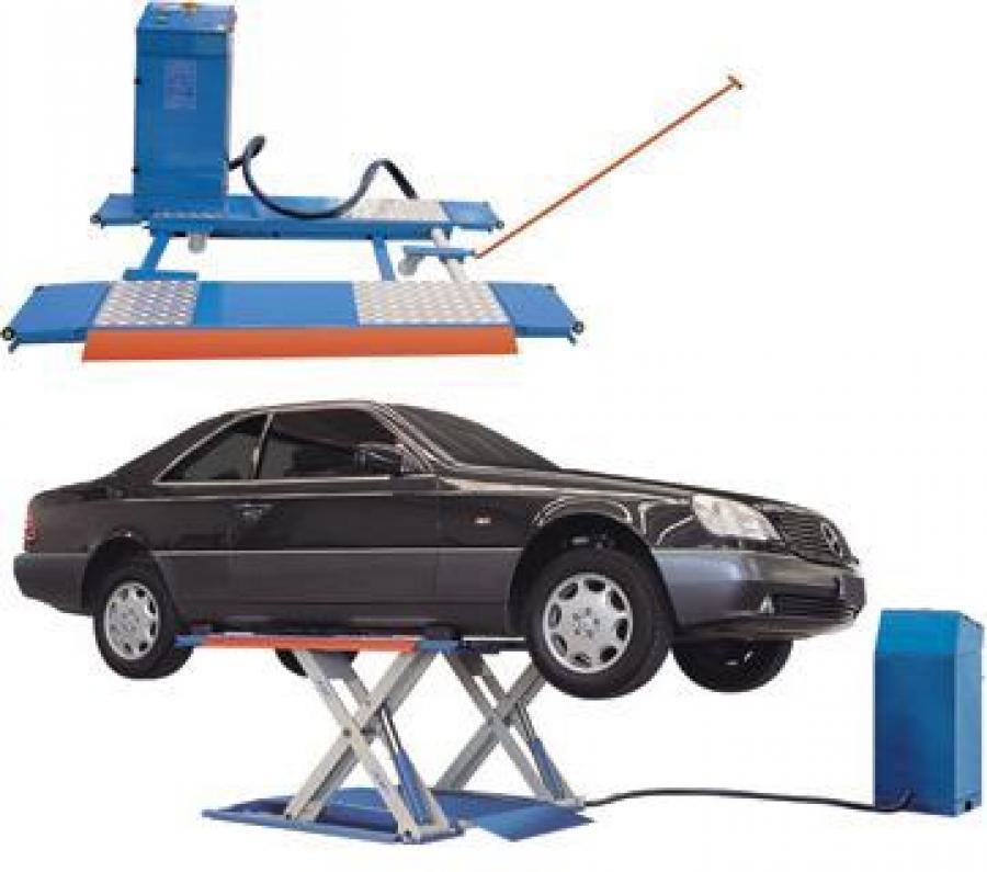 Startech omcn ponte sollevatore mobile elettroidraulico for Ponte sollevatore mobile per auto